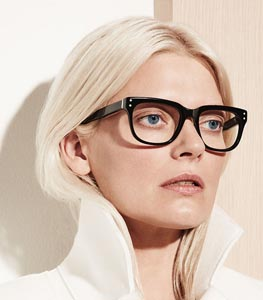 Kate Young for Tura eyewear collection